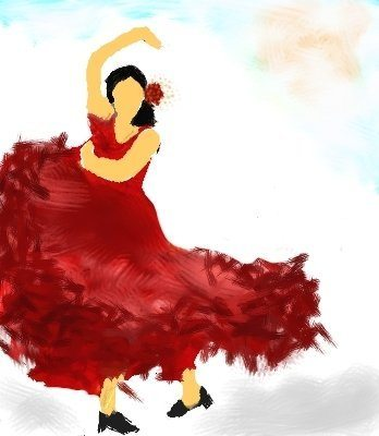 Artwork inspired by the music. By Roshni Mohapatra