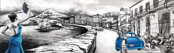 Rumbadoodle CD 3 Panel Artwork